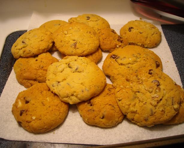 Mean Chocolate Chip Cookies