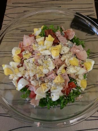 Cobb Salad with Brown Derby Dressing
