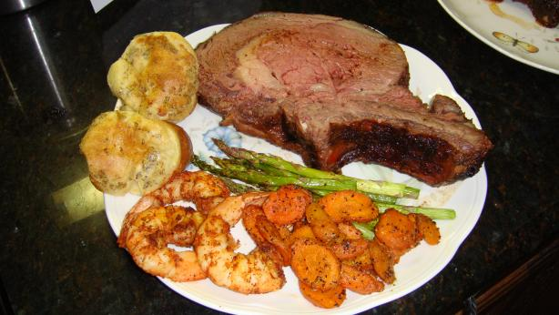 Spicy Smoked Prime Rib