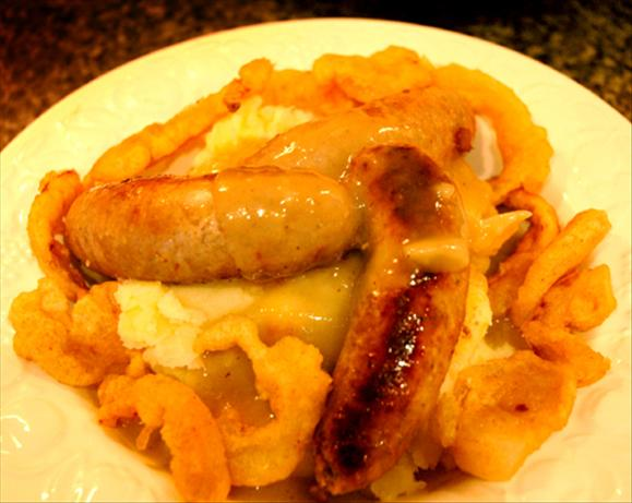 Bistro Bangers and Mash