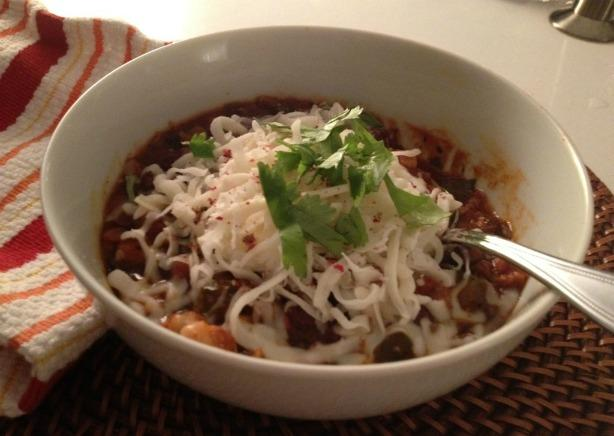 Granny's Slow Cooker Vegetarian Chili