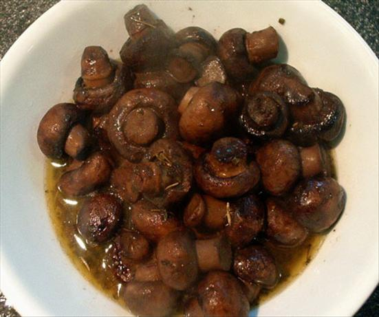 Crock Pot Mushrooms