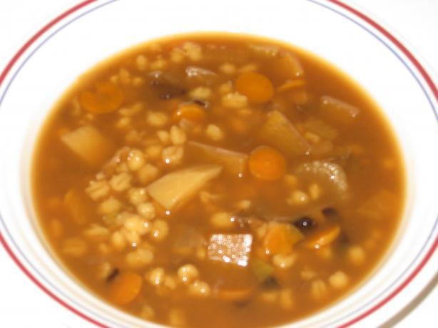 Krupnik (Polish Mushroom Barley Soup)