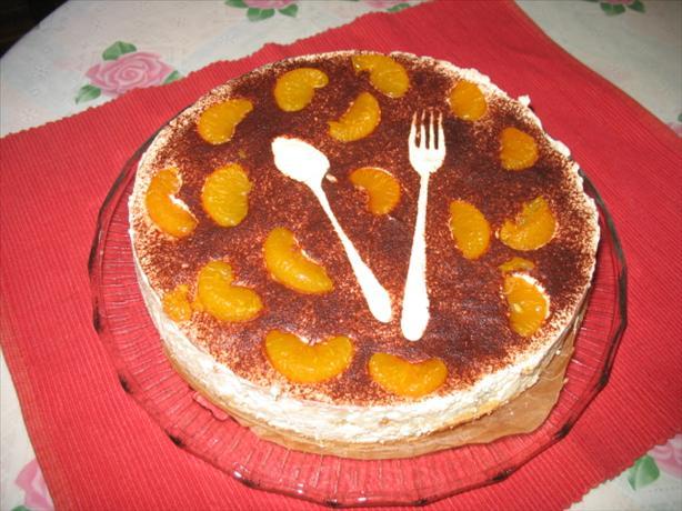 Tiramisu With Orange Zest