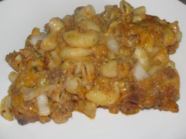 Cheesy Barbecue Casserole