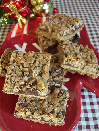 Milk Chocolate Toffee Bars