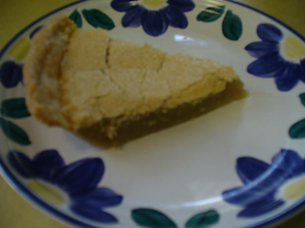 Ruby's Vinegar Pie