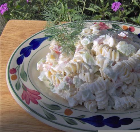 Dilled Cucumber Pasta Salad