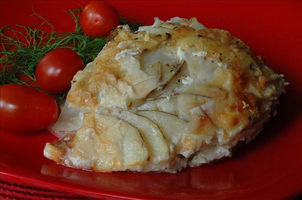 Onion Potato Gratin