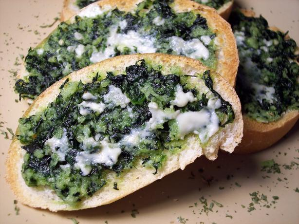 Spinach Au Roquefort
