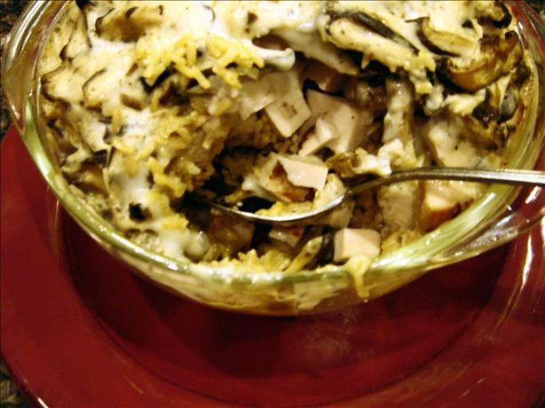 Hearty Turkey and Mushroom Casserole