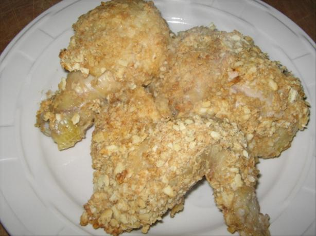 Deviled Oven-Fried Chicken