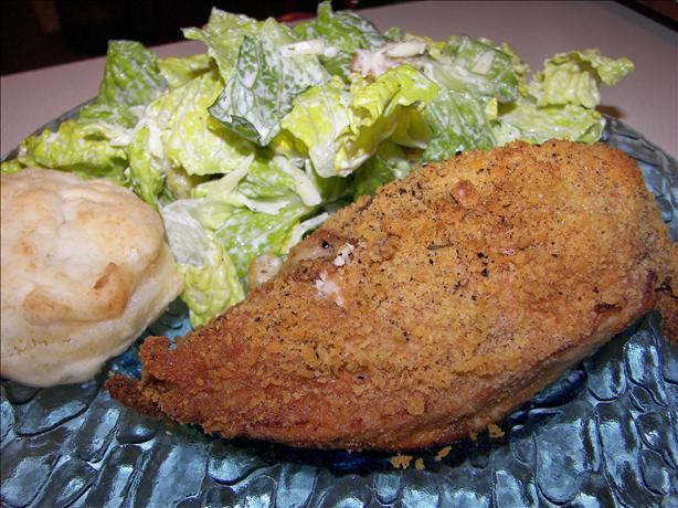 Ritz Cracker Crumb Chicken