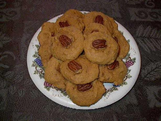 Harvest Pumpkin Cookies