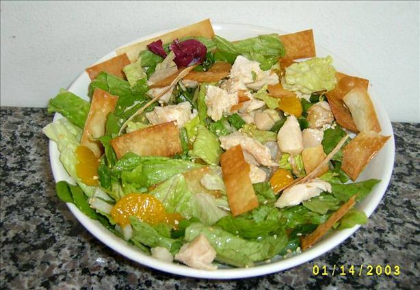 Won Ton Salad