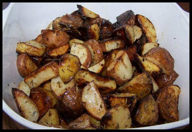 Roasted Herb Potato Medley