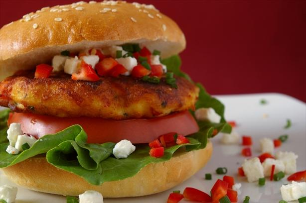 Feta Salmon Fishcakes