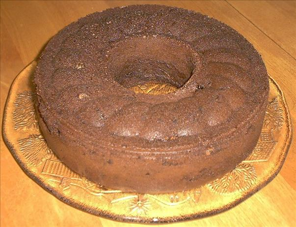 Chocolate Chocolate Chocolate Bundt Cake