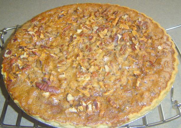 Cajun Sweet Potato Pecan Pie