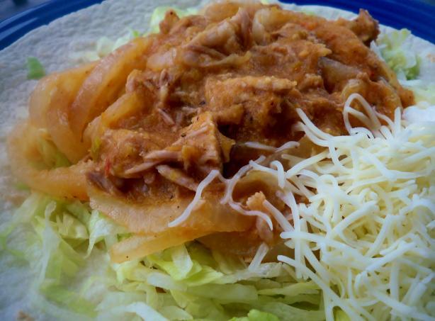 Tinga (Mexican Dish)