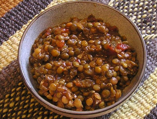 Easy Lentil Chili