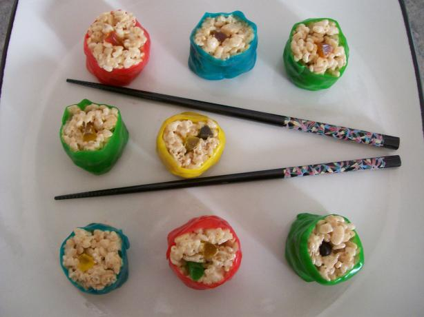 Mock Sushi- a childrens treat