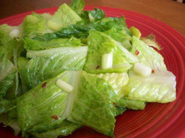 Tennessee-Killed Lettuce Salad
