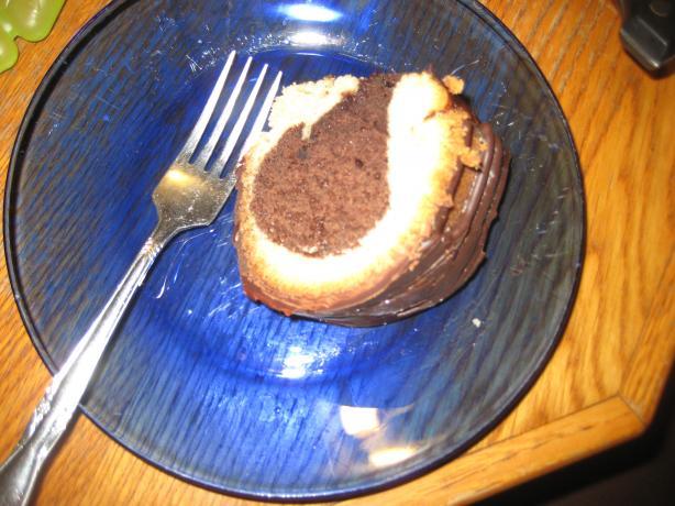 Vanilla-Fudge Marble Cake