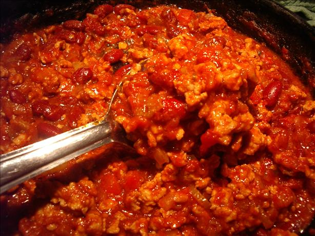 Ground Chicken Chili