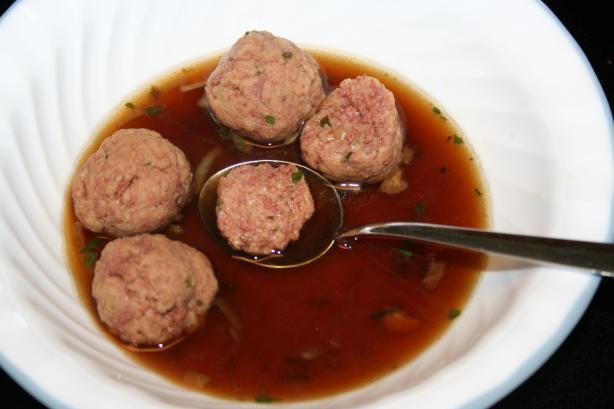 Beef Liver Dumpling Soup II (Leberklosse)