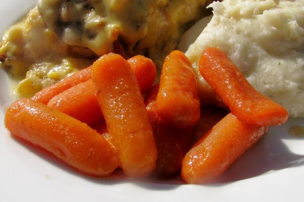 Glazed Baby Carrots Dijonaise