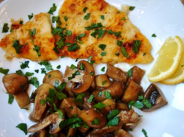 Cajun Glazed Mushrooms