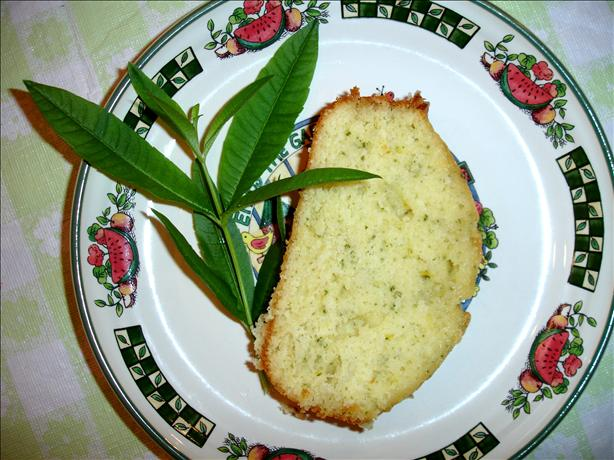 Lemon Verbena Bread