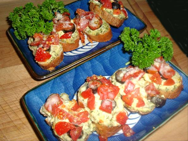 Roasted Garlic Bruschetta