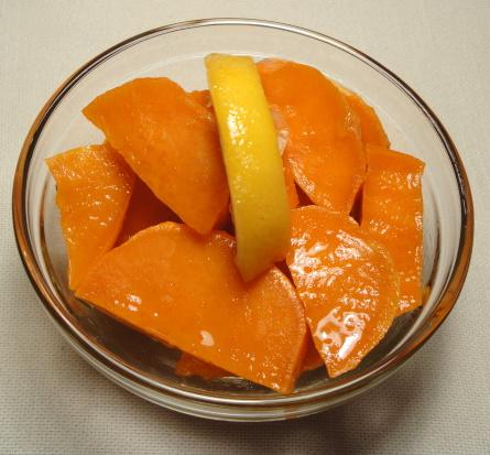 Sweet Potato and Lemon Salad