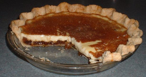 Mincemeat Custard Pie