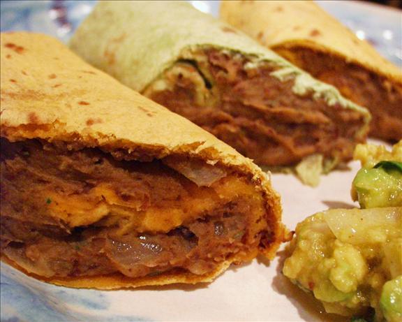 Sweet Potato and Black Bean Burrito