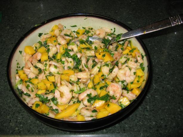 Shrimp and Mango Appetizer