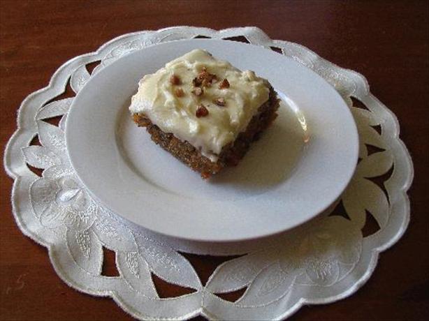 Kathy's Carrot Cake
