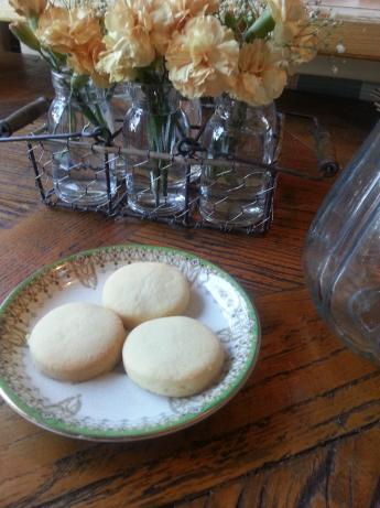 Simple Shortbread Cookies