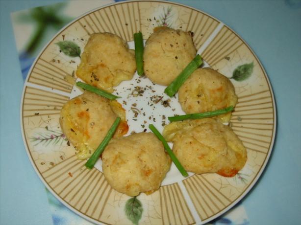 Mozzarella Cheese Puffs (Piumini di Mozzarella al Forno)