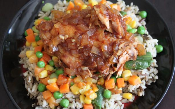 Savory Sweet Crock Pot Chicken
