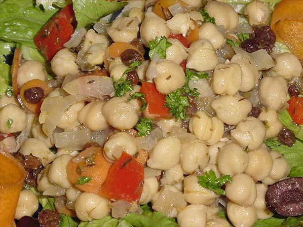 Marinated Garbanzo Salad