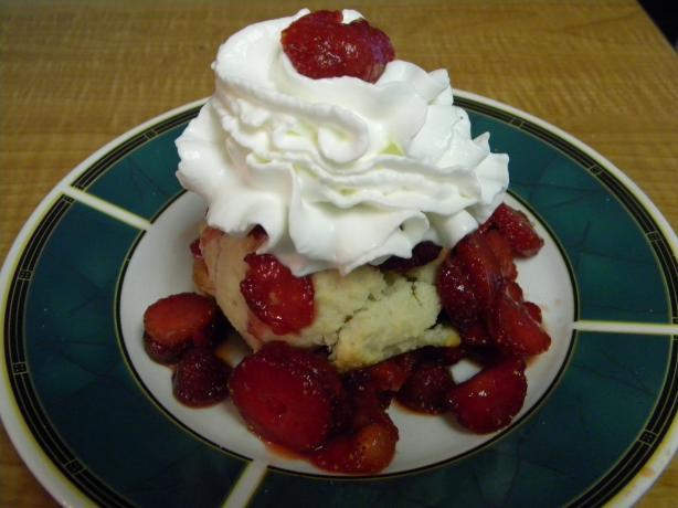 Strawberry Shortcake a la Treebeard's