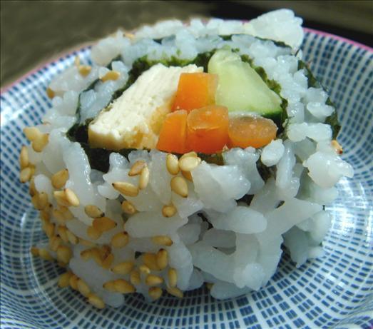 Tofu Maki (Vegetarian Sushi)