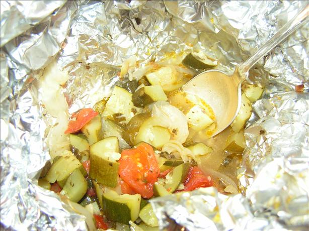 Zucchini Packets for the Grill