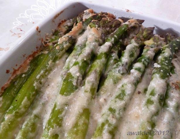 Crusted Asparagus (Uberkrustete Spargel)