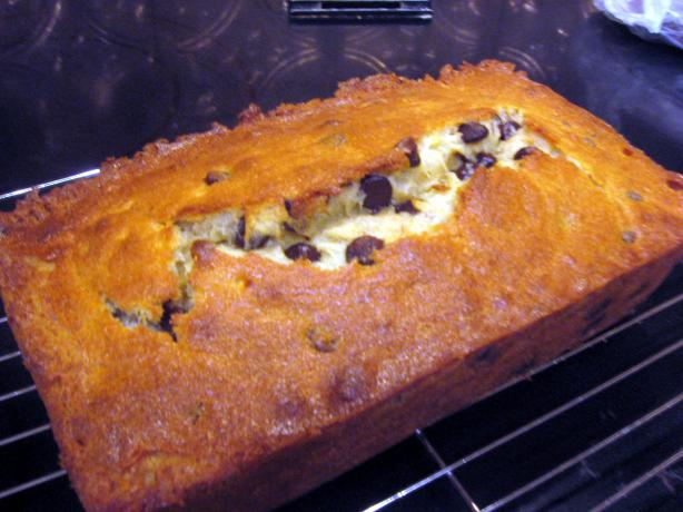 Banana Bread (With Chocolate Chips)