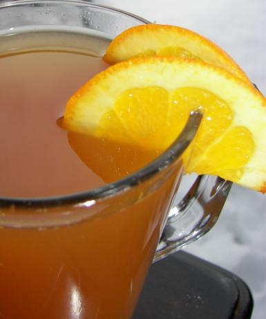 Hot Orange Spice Cider