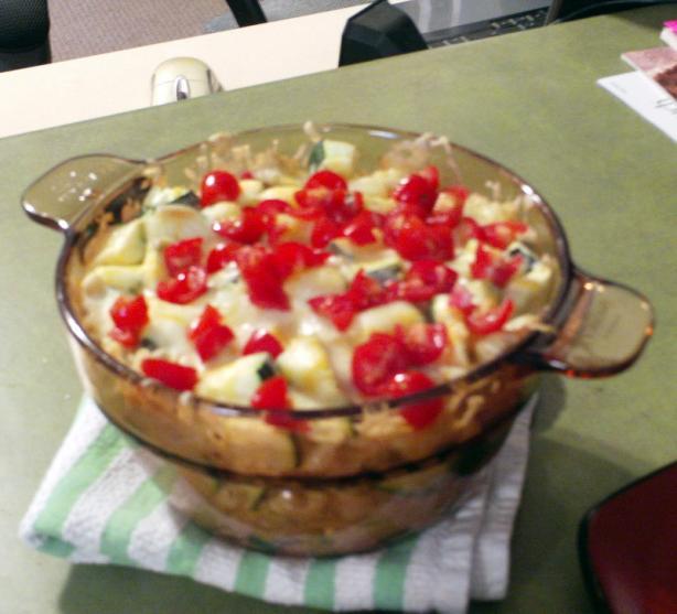 Hearty Zucchini and Tuna Casserole